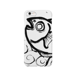 墨絵 魚 Smartphone cases