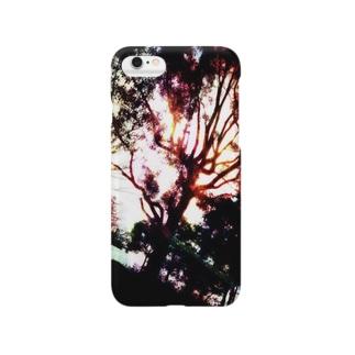 虹と木 Smartphone cases