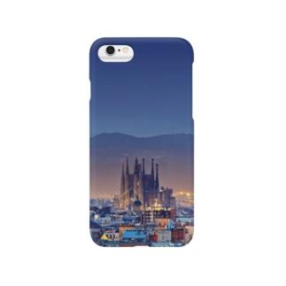 朝の街 Smartphone cases