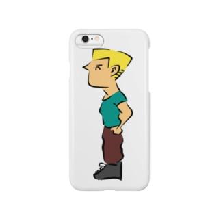 マイケルくん Smartphone cases