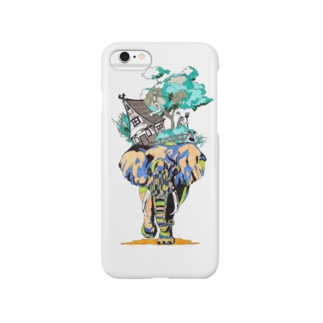 elephant with a house Smartphone cases