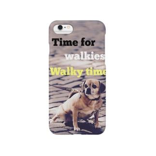 お散歩デザイン Smartphone cases