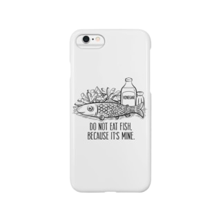 do not eat fish Smartphone cases