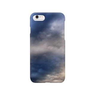 荒れる空 DATA_P_143 sky Smartphone cases