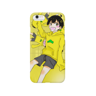 野良ネコ*の十四松(スマホカバー) Smartphone cases