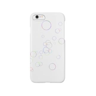 シャボン玉 Smartphone cases