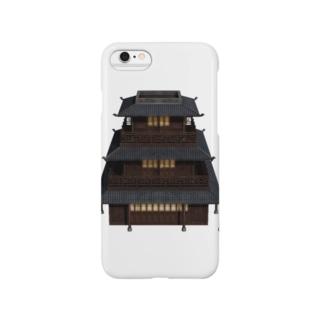 3重の塔 Smartphone cases