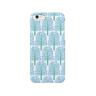 Forest pattern for iPhone 6 スマートフォンケース