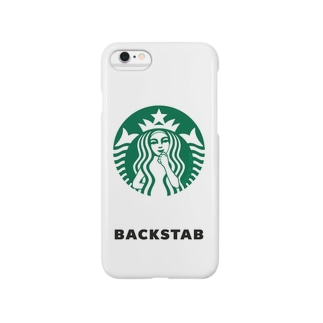 BACKSTABグッズ Smartphone cases