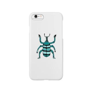ホウセキゾウムシ Smartphone cases
