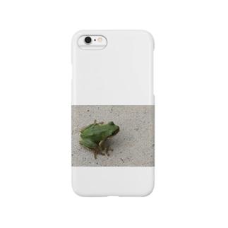 雨蛙。 Smartphone cases