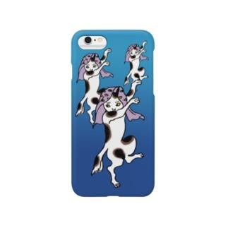 踊る猫又 Smartphone cases