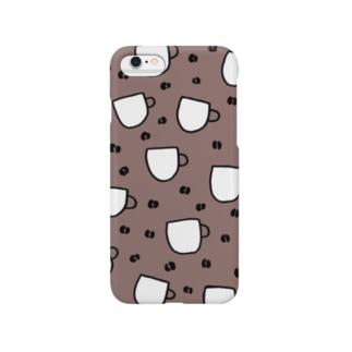 サンプル1(コーヒー) Smartphone cases