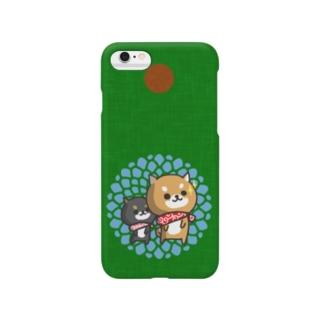 柴犬 midori Smartphone cases