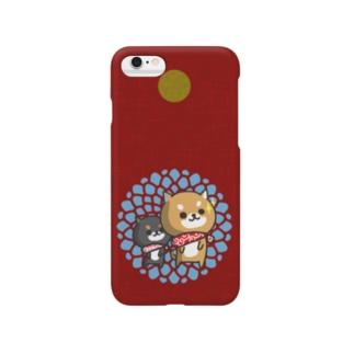 柴犬 akairo Smartphone cases
