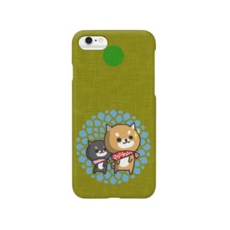 柴犬 kiiro Smartphone cases