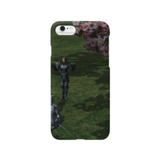 桜の謁見 Smartphone cases
