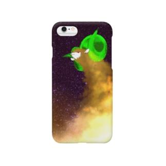 羊年賀状ちゃん Smartphone cases