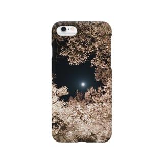 まんげつとさくら Smartphone cases