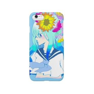summer girl スマートフォンケース