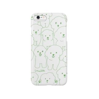 ぎゅうぎゅうビション(みどり) Smartphone cases