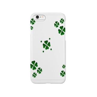 クローバー模様 Smartphone cases
