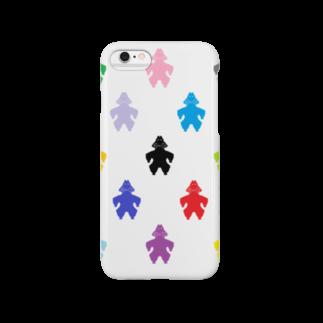 decoppaの土偶カラフル模様 Smartphone cases