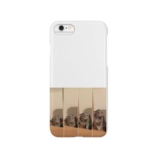 とらちゃぼんイカミミモドキ(オトナ) Smartphone cases