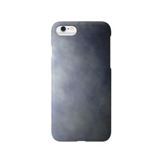 灰色の空ケース Smartphone cases