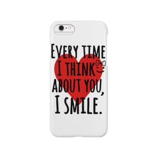 あなたを考えると♡えがおになる Smartphone cases