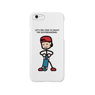 "String skater ""Stand2"" Smartphone cases"
