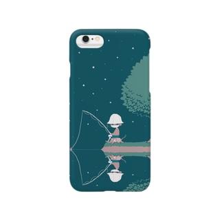 ほら、よるの釣り Smartphone cases