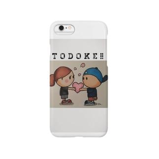 TODOKE !!シリーズ BOY AND GIRL  Smartphone cases