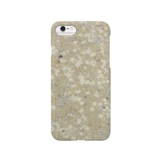 竜山石 黄色 Smartphone cases