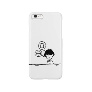 朝ごはん。 Smartphone cases