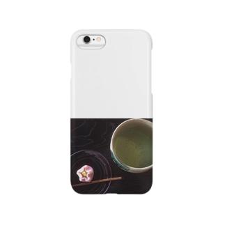 お抹茶 Smartphone cases