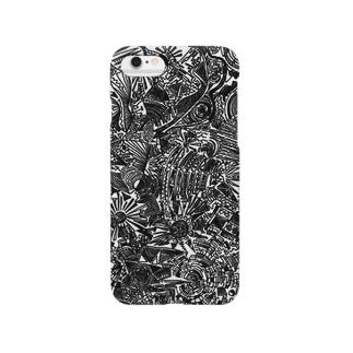 魚のまぎれたセカイ Smartphone cases
