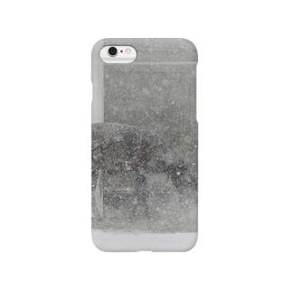 雪景色シリーズ4 Smartphone cases