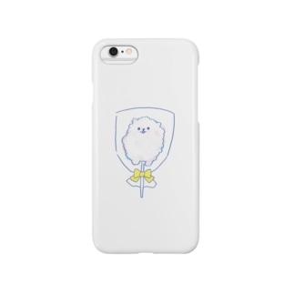 わたあめぽめ Smartphone cases