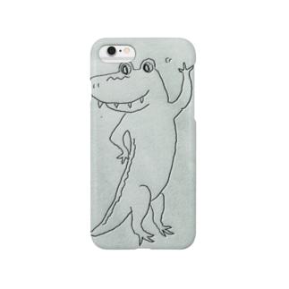Alligator ありがとう Smartphone cases
