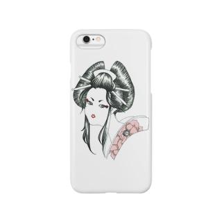 botan woman Smartphone cases