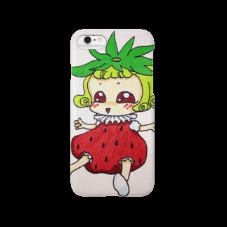 明白のいちごちゃん Smartphone cases