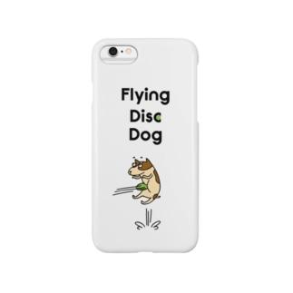フライングディスクドッグ Smartphone cases