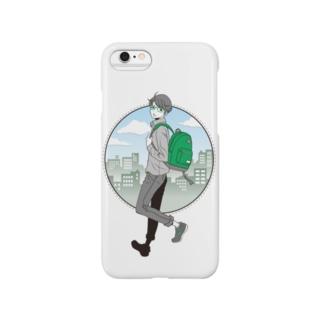 眼鏡男子 Smartphone cases