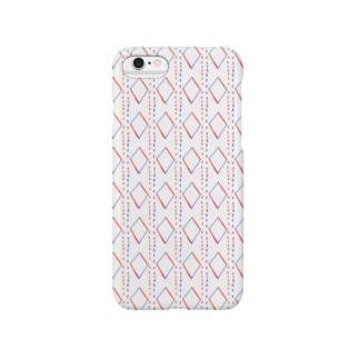 赤&紺 Smartphone Case