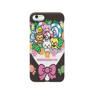 ピコピコうさたん(うさぎの妖精) Smartphone cases