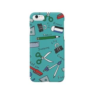 ぶんぼうぐ /green Smartphone cases