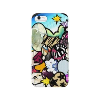 ガヤガヤ Smartphone cases