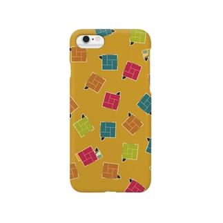 四畳半(からし色) Smartphone cases