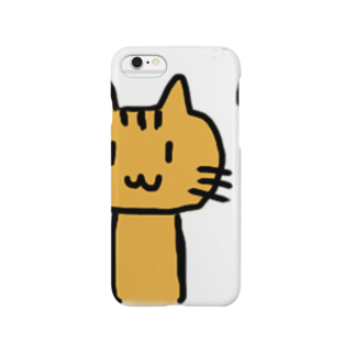 との字@パンダコタンのニャー太 Smartphone cases